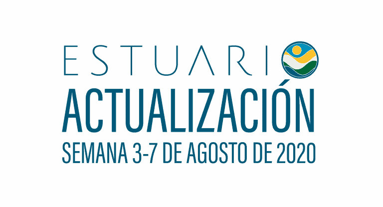 Actualización por parte del Equipo del Estuario (semana 3-7 de agosto de 2020)