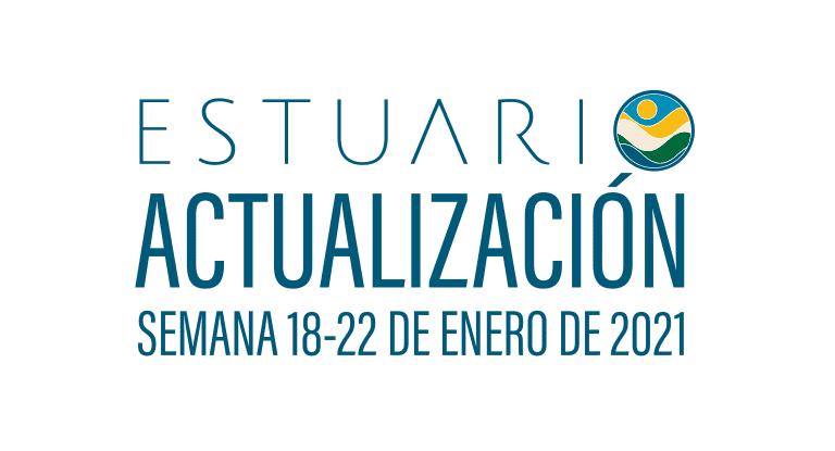 Actualización por parte del Equipo del Estuario (semana 18-22 de enero de 2021)