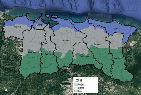 Identifica activos en tu comunidad para el Plan de Mitigación de Riesgos del Estuario de la Bahía de San Juan
