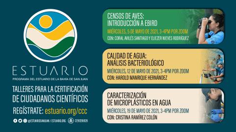 Comienza nueva ronda de talleres de Certificación de Ciudadanos Científicos