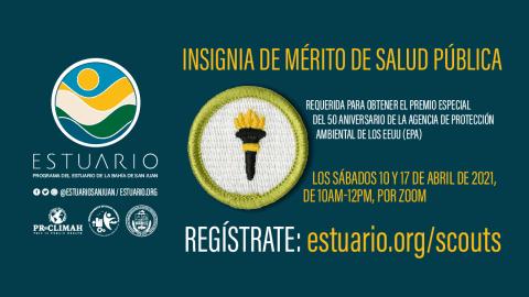 Estuario ofrece Insignia de Mérito de Salud Pública a Scouts
